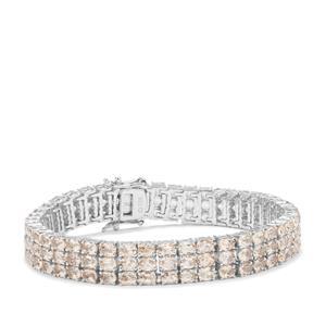 Alto Ligonha Morganite Bracelet in Sterling Silver 19.15cts