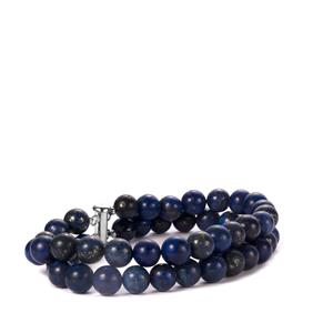 Sar-i-Sang Lapis Lazuli Bracelet in Sterling Silver 170cts
