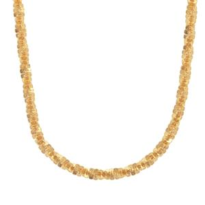 "24"" Midas Couture Diamond Cut Criss Cross Slider Chain 3.61g"