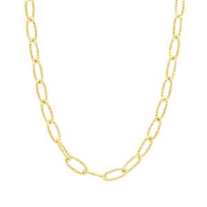 """18"""" Midas Classico Diamond Cut Link Filo Chain 3.17g"""