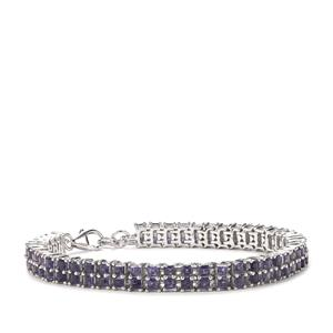Bengal Iolite Bracelet in Sterling Silver 7.27cts