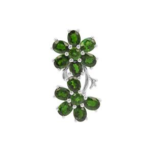 Chrome Diopside Pendant in Sterling Silver 4.84cts