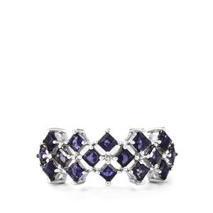 Bengal Iolite Ring in Sterling Silver 1.32cts