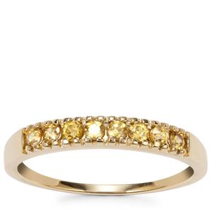 Morafeno Sphene Ring in 10K Gold 0.33ct