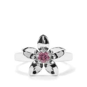 Mahenge Purple Spinel Ring in Sterling Silver 0.29cts