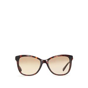 Coach Tortoiseshell Rectangular Shape Framed Sunglasses