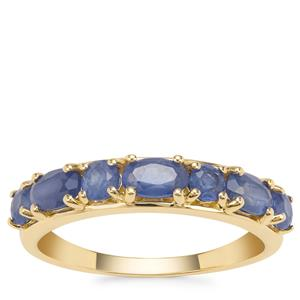 Burmese Blue Sapphire Ring in 9K Gold 1.62cts