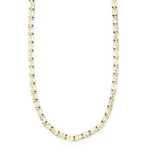 29.47ct Serenite Platinum Plated Sterling Silver Necklace