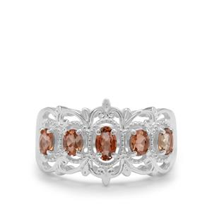 Sopa Andalusite Ring in Sterling Silver 0.90ct