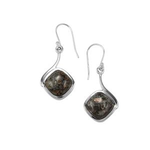 Astrophyllite Earrings in Sterling Silver 13cts
