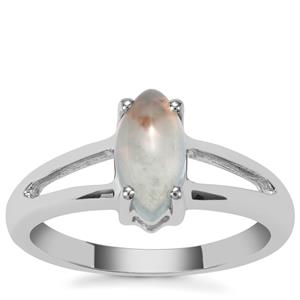 Aquaprase™ Ring in Sterling Silver 1.24cts