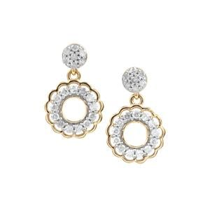 1/2ct Diamond 10K Gold Tomas Rae Earrings