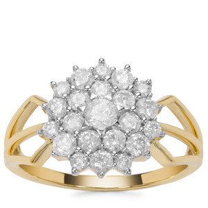 'Athens' 1ct First Class Diamond Ring 9K Gold