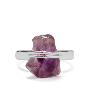9.21ct Moroccan Amethyst Sterling Silver Aryonna Ring
