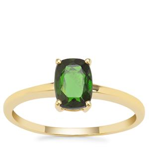 Chrome Diopside Ring in 9K Gold 0.89ct