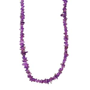 Zambian Amethyst Nugget Necklace 400cts