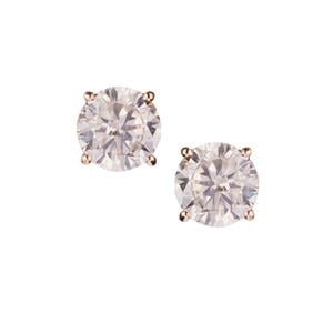 Diamond Earrings in 14K Gold 1.5cts
