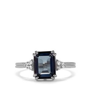 Hope Topaz Ring with White Topaz in Sterling Silver 2.85cts