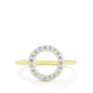 1/3ct Diamond Gold Vermeil Palermo Ring
