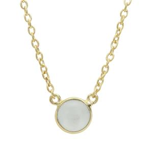 Aquamarine Necklace in Gold Plated Sterling Silver 2.43cts