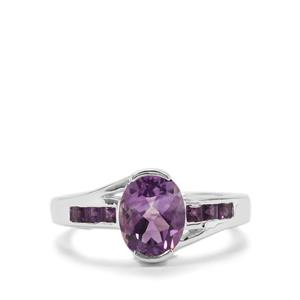 Moroccan Amethyst Ring in Sterling Silver 1.93cts