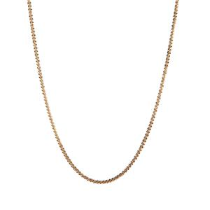 "20"" Gold Tone Sterling Silver Couture Tocalle Chain 2.64g"