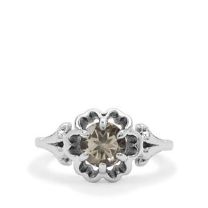 1.22ct Serenite Sterling Silver Ring