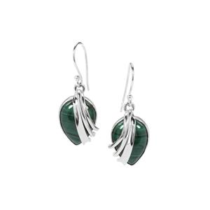 23ct Malachite Sterling Silver Aryonna Earrings