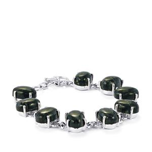 Picasso Jasper Bracelet in Sterling Silver 58.50cts