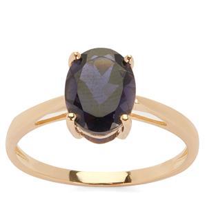 1.52ct Bengal Iolite 9K Gold Ring