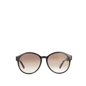 Chloe Black Round Lens Sunglasses