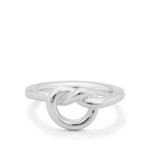Sterling Silver 'Love Knot' Ring
