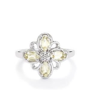 Serenite Ring with White Topaz in Sterling Silver 0.93ct