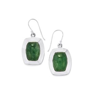 21ct Aventurine Quartz Sterling Silver Aryonna Earrings
