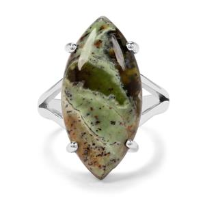 10ct Opal Chalcedony Sterling Silver Aryonna Ring