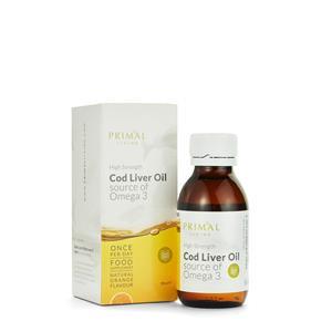 Orange Flavour Cod Liver Oil - Liquid Supplement 90ml
