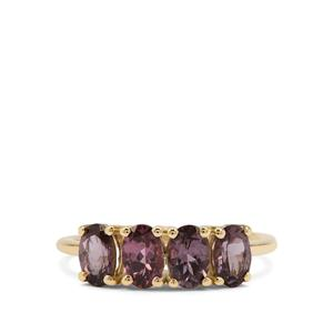 Mahenge Purple Spinel Ring in 9K Gold 2.03cts
