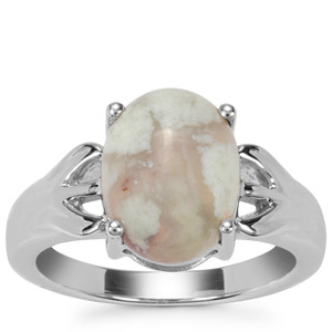 Aquaprase™ Ring in Sterling Silver 4.09cts