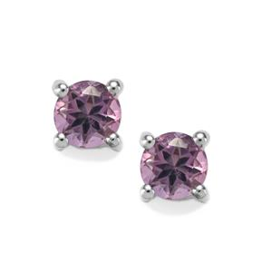Kenyan Amethyst Earrings in Sterling Silver 0.67cts