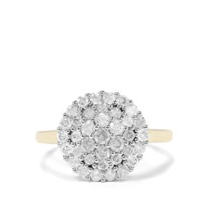 1ct Diamond 9K Gold Tomas Rae Ring