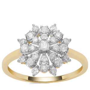 'Innsbruck' 1/2ct First Class Ring Diamond 9K Gold