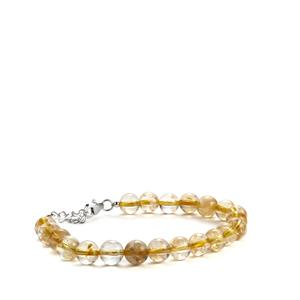 Rio Golden Citrine Bracelet in Sterling Silver 72.45cts
