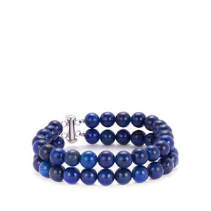 Lapis Lazuli Bracelet in Sterling Silver 207.30cts