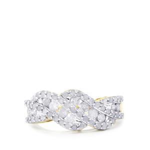 Diamond Ring in 10k Gold 1cts