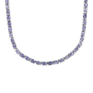 AA Tanzanite Necklace in Sterling Silver 17.16cts