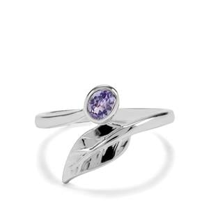 0.27ct Tanzanite Sterling Silver Ring