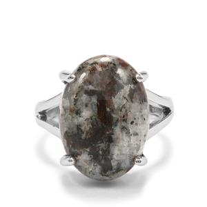 10.50ct Astrophyllite Sterling Silver Aryonna Ring