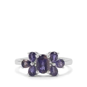 1.68ct Bengal Iolite Sterling Silver Ring