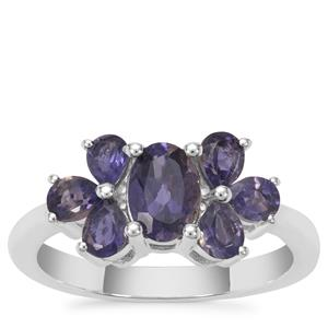 Bengal Iolite Ring in Sterling Silver 1.68cts