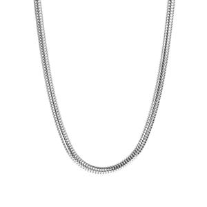"17"" - 19"" Sterling Silver Kama Charms Necklace 21.70g"